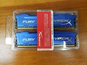Kingston HyperX FURY 16GB Kit (2x8GB) 1600MHz DDR3 CL10 DIMM - HX316C10FK2/16