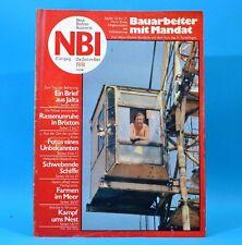 DDR NBI 19 1981 Wriezen Niederfinow Karl-Marx-Stadt Brixton Bardasch Südafrika S