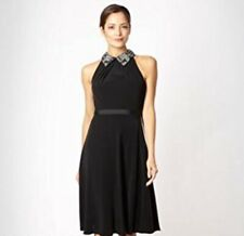 43dbadb5f415 Jenny Packham Black Collar Dress NWT Size 8