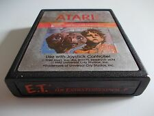E.T. THE EXTRA-TERRESTRIAL  ATARI 2600 GAME CARTRIDGE (TESTED AND WORKING)