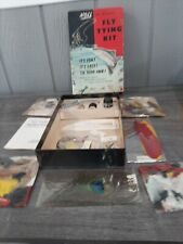 New listing 1950's Noll Fly Tying Kit #20 Fishing