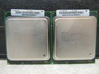 LOT of 2 Intel Xeon E5-2620 2.00GHz 6-Core LGA 2011 CPU Processor SR0KW