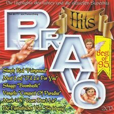 Bravo Hits - Best of '95 - 2 CDs Simply Red, Meat Loaf, Shaggy, Vangelis
