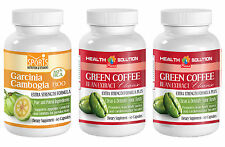 Green Coffee Cleanse Extract & Garcinia Cambogia Extract Weight Loss  (2+1)
