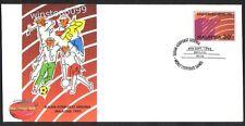 Malaysia 1993 World Corporate Games Souvenir FDC (Melaka Cancellation)