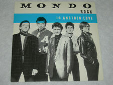 """MONDO ROCK In Another Love / Is It Any Wonder 1983 P/S 7"""" NM"""