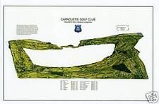 Carnoustie Golf Club-1842 Allan Robertson/Old Tom Morris - VintageGolfCourseMap