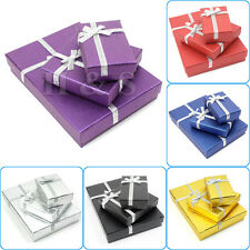 12x High Quality Jewellery Gift Boxes Bag Necklace Bracelet Ring Set 8*5*2.5cm