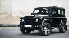 Land Rover Defender 20inch Alloy Wheels Black Kahn Mondial Set of 5