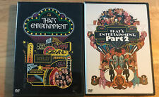 That's Entertainment 1 & Part 2/ 2 DVD LOT Fred Astaire, Bing Crosby, Gene Kelly