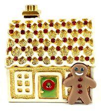 Estee Lauder Compact Gingerbread House 2000 Perfume Intact!!