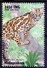 M5a- Madagascar 1998 MNH, Ocelot, Wildcats, Wild Animals