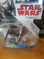 Hot Wheels Star Wars The Last Jedi First Order Special Forces Tie Fighter, New T