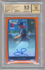 2012 Bowman Chrome Prospect JOE ROSS Orange Refractor AUTO 1/25 BGS 9.5/10 STUD!