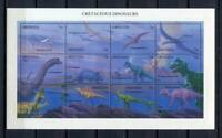 36298) Grenada 1994 MNH Cretaceous Dinosaurs S/S