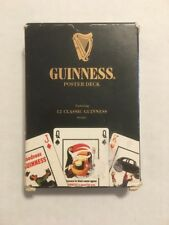 Guinness Beer Playing Cards Collection Wide Poster Deck Poker Solitaire Man Cave
