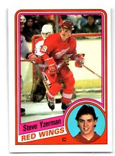 1984-85 O-Pee-Chee Steve Yzerman #67 RC Rookie