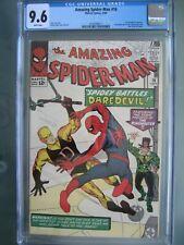 Amazing Spider-Man #16 CGC 9.6 WP Marvel Comics 1964 1st Daredevil crossover