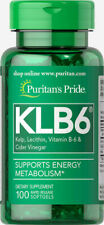 GREAT DEAL Puritan's Pride KLB6 Kelp Complex - 100 Gels Promotes Healthy Thyroid