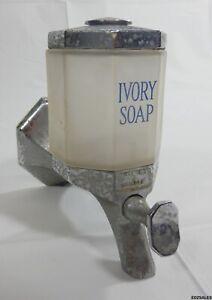 Vintage 1923 Proctor & Gamble Ivory Soap Glass Globe Gas Station Soap Dispenser