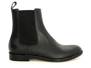 Gucci Men's Luxus-Schuhe Ankle Boots Chelsea Dark Brown Eu:43 ( 9) New /