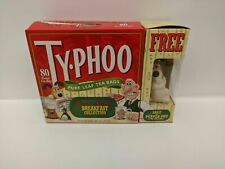 Vintage Wallace and Gromit Empty Box Typhoo Tea with Gromit Pepper Pot - New -