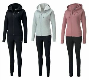 Puma Ladies Classic Hd. Sweat Suit CL/Tracksuit Drycell