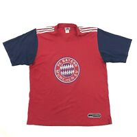 VINTAGE Adidas FC Bayern Munich Soccer Jersey Size Extra Large Red Dry Fit Shirt