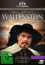 WALLENSTEIN (1-4) (4 DVDS) - WIRTH,FRANZ/ROLF BOYSEN, ROMUALD PEKNY  4 DVD NEU