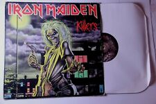 Iron Maiden - Killers VG/VG 1981 Capitol records ST-12141 Hard Hair Metal Rock