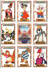 DISNEY'S AN AMERICAN TALE FIEVEL GOES WEST COMPLETE 150 ANIMATION CARD SET
