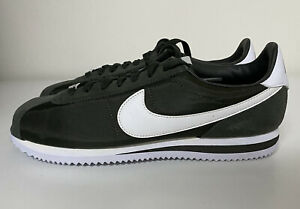 Nike Cortez Basic Nylon Mens Sz 10 Sequoia Olive Green 819720-301 Sneakers NEW!!