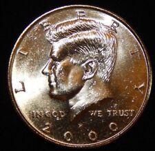 2000 P  Kennedy Half Dollar  BU Uncirculated  Flat fee ship