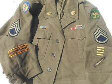 WW2 USAAF Ike Jacket 8th Air force Yank Magazine Photographer size 44 R Serial