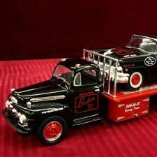 RARE - BOSTON TOW CO 56 STOCK CAR & 51 FORD TRUCK SET - First Gear  NASCAR NHRA