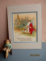rare Stecher chromolithograph of Noah and the Ark 1916