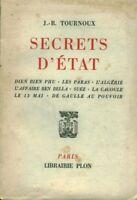Livre secrets d'état J. R. Tournoux book