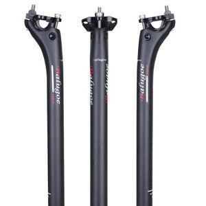 BALUGOE Full Carbon MTB Road Bike Seatpost Seat Tube 27.2 30.8mm 150kg Load