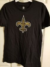 New orleans saints girls size small 7/8 shirt NWT by NFL team apparel fleurdelis