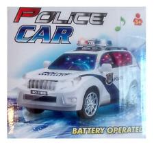 BUMP AND GO AUTO della polizia Motorcar con lampeggiante luci superiore (bambini giocattolo)