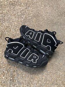Nike Air More Uptempo 96 Pippen Black White 921948-400 Size 13