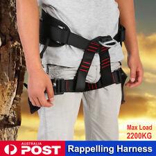 Adjustable Half Body Safety Rigging Tree Rock Climbing Rappelling Harness 2200KG