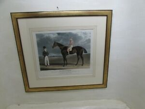 """After J F Herring """"Birmingham - Won The Great St. Ledger 1830"""", Engraved R Reeve"""