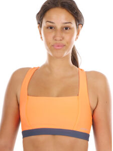 O'Neill Sportbra Function Top Orange Active Reversible Hyperdry