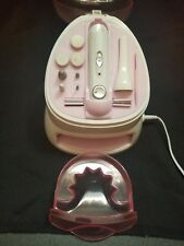 Conair Nail Care System All In One Manicures Pedicures Tool Built In Dryer Salon