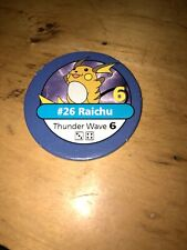 Pokemon Master Trainer - Blue Chip - #26 Raichu 1998/1999 BLACK BOX EDITION