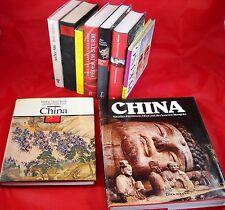 9 x Bücher chinesisches Leben, Peking, CHINA Weisheit Kaiser - Sammlung Paket