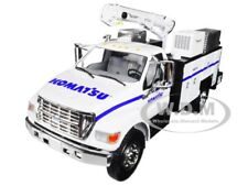FORD F-650 KOMATSU W/ MAINTAINER SERVICE BODY 1/34 BY FIRST GEAR 10-4108