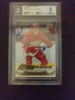 2015 Upper Deck UD Canvas #C112 Young Guns - Dylan Larkin BGS 9 MINT Rookie Card
