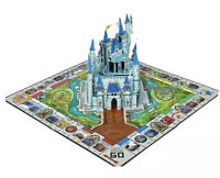 2020 Disney Parks Theme Park Edition Monopoly Game Pop-Up Castle 10% Donated BLM